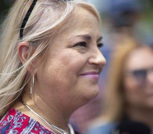 """Gobernadora de Puerto Rico sobre aspirar a las elecciones en el 2020: """"Mañana solo Dios dirá"""""""