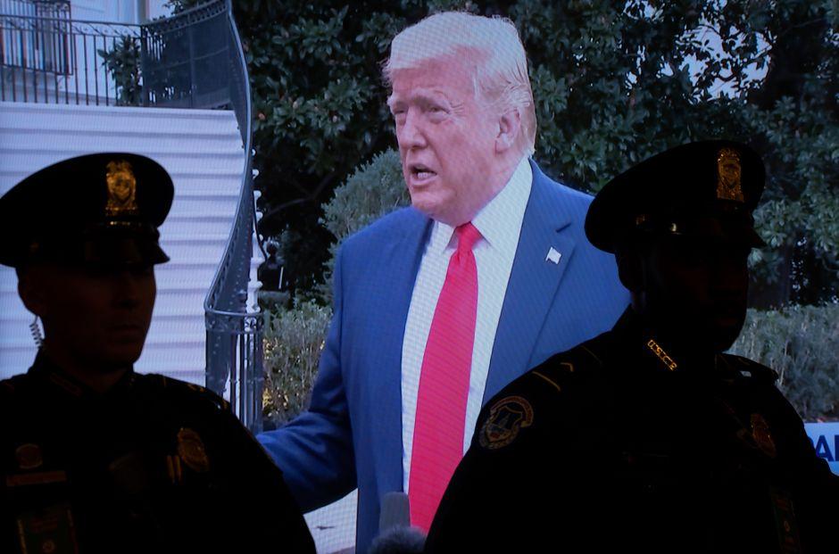 """Impeachment: Los tres """"delitos graves"""" por los que los expertos señalan a Trump"""
