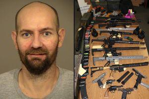 Redada policial descubre gran cantidad de armas y municiones en vivienda del sur de California