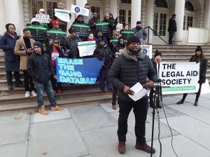 Coaliciones se movilizan para exigir el fin de base de datos de pandilleros del NYPD