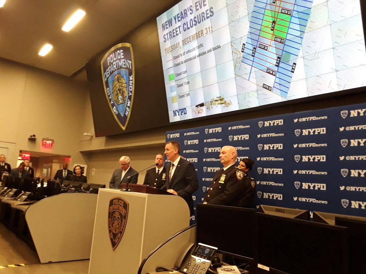 Este viernes NYPD invitó a los asistentes a denunciar situaciones sospechosas