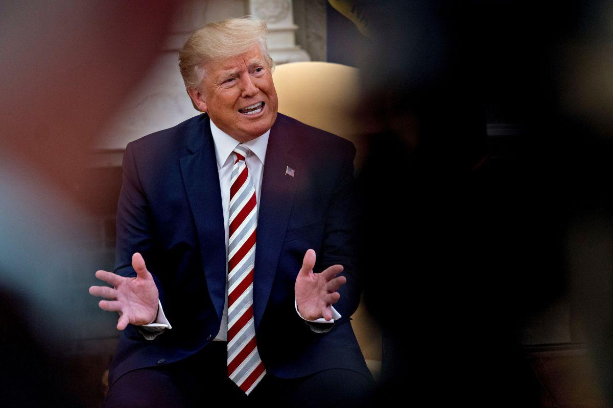 El presidente Trump no se defenderá ante la Cámara.