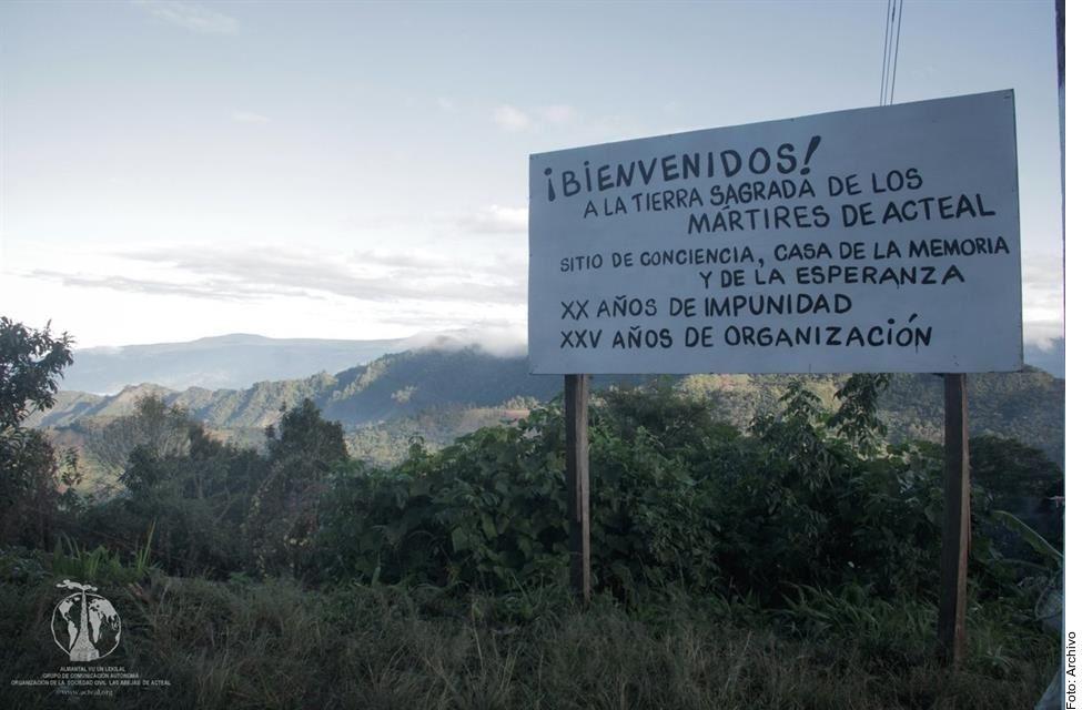 A 22 años de la masacre de Acteal, Chiapas, el caso sigue siendo una deuda del Estado mexicano