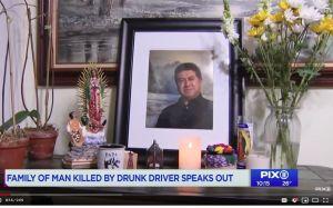 Hispano murió arrollado por borracho que causó varios choques en Nueva York; familia pide ayuda