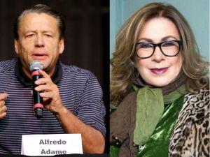 """Alfredo Adame llama """"pobre diabla"""" a Laura Zapata"""