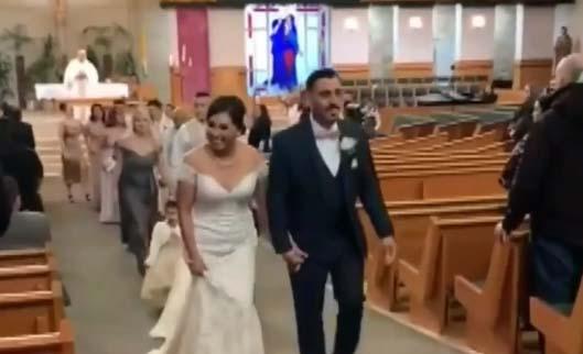 Viuda comparte imágenes de su esposo antes de ser asesinado en su fiesta de bodas en California
