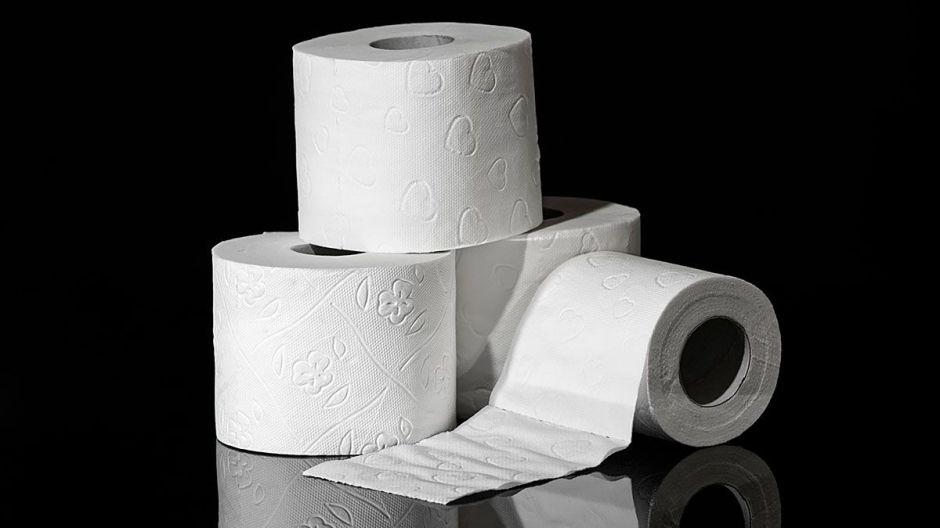 ¿Por qué sólo hay papel higiénico de color blanco?
