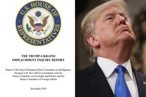 Los 9 señalamientos contra Trump en reporte para juicio político