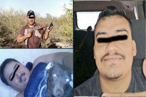 FOTOS: Exhiben a presuntos sicarios de Los Escorpiones del Cártel del Golfo