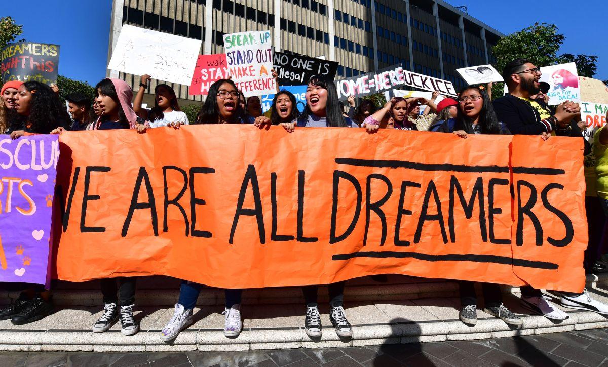 """""""Todos somos soñadores""""."""