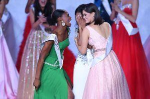 Video: Causa sensación la reacción de Miss Nigeria tras victoria de Jamaica en Miss Mundo