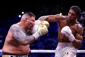 Entrenador de Anthony Joshua dice que no tiene sentido una tercera pelea con Andy Ruiz