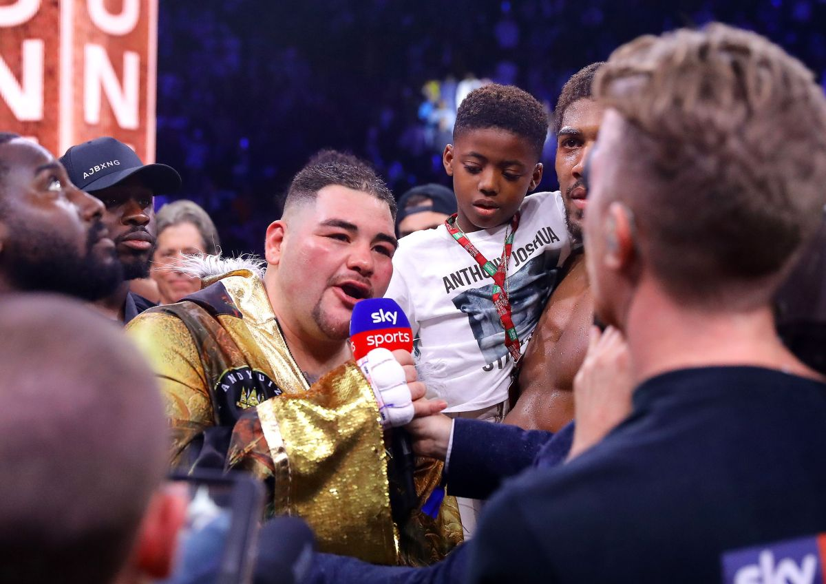 """""""Creo que no me preparé como debí, gané demasiado peso"""": Andy Ruiz así justificó su derrota"""