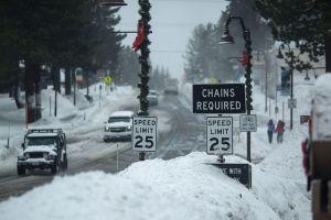 ¿Una Navidad blanca en Antelope Valley? Es posible, dicen los meteorólogos