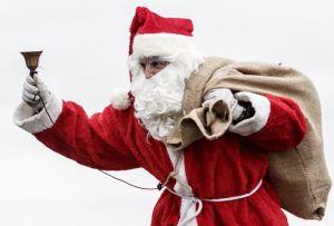 ¿Por dónde va Santa Claus?