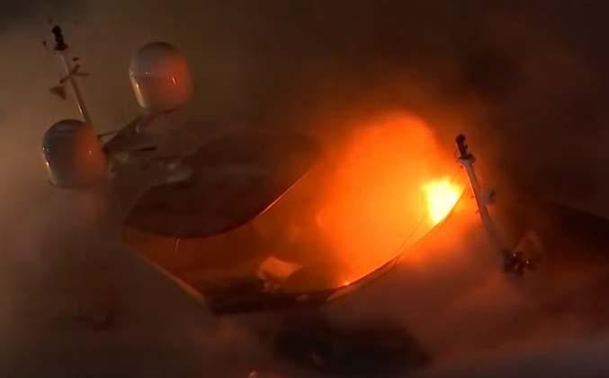 El yate de lujo de Marc Anthony que se quemó en Miami tenía un valor de $7 millones de dólares