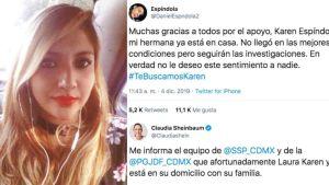 """Laura Karen Espíndola no estuvo secuestrada en Ciudad de México, """"estuvo de parranda"""""""