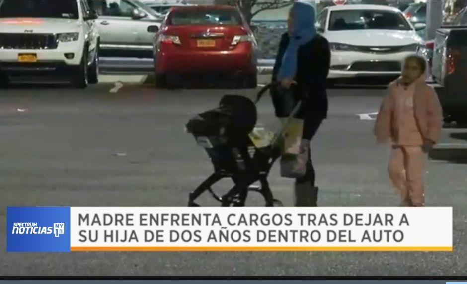 Arrestan a madre latina por dejar a bebé en el auto e irse de compras en El Bronx