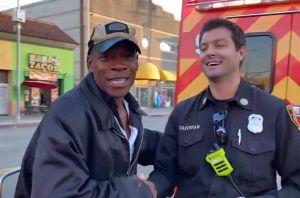 Indigente y ayudante de bombero a la vez: la historia de 'Mango' en Skid Row