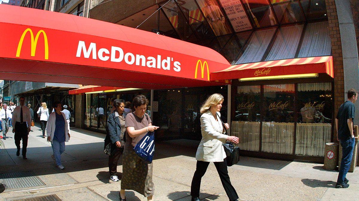 Las 10 ciudades de EEUU donde hay más McDonald's per cápita