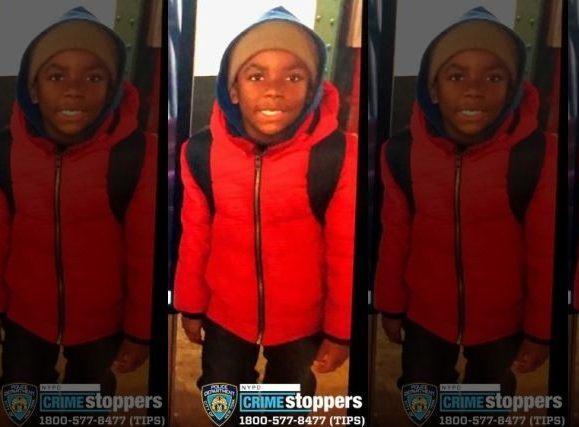Alerta por niño de 8 años extraviado en El Bronx