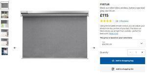 Por qué las persianas inteligentes Fyrtur de IKEA son una excelente compra