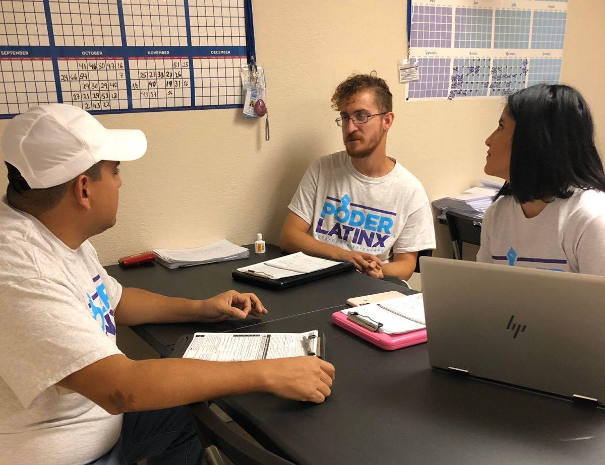La campaña busca llegar a la mayoría de los entre 15 y 18 millones de votantes jóvenes.