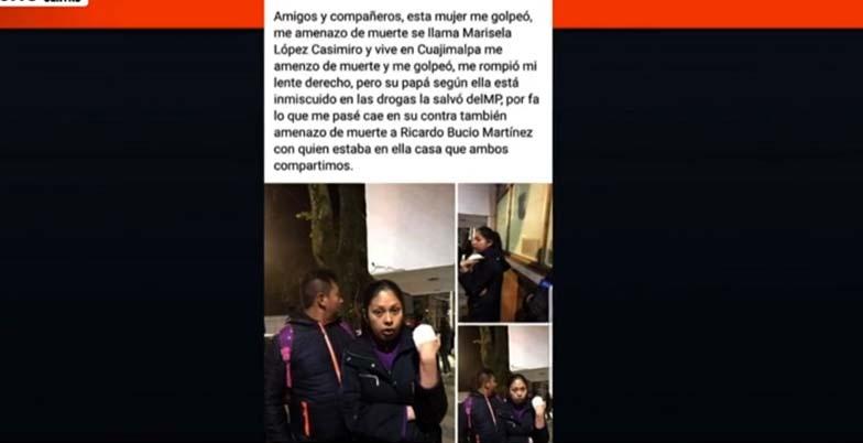 El post compartido por Ana Isabel en Facebook antes de ser asesinada y escondida en una maleta