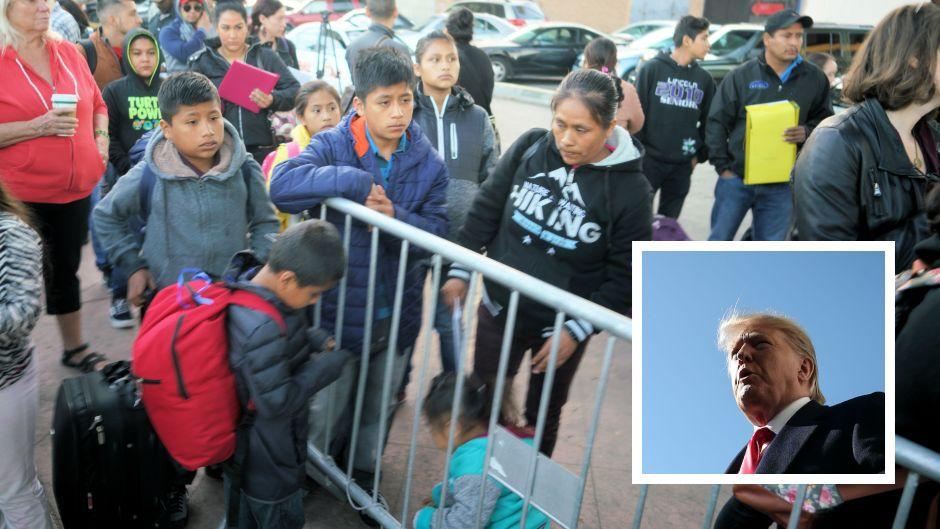 Primer condado prohibiría llegada de muchos inmigrantes gracias a orden ejecutiva de Trump
