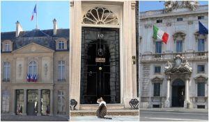 Cómo son las residencias oficiales de los países europeos más poderosos