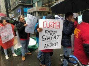 Trabajadores piden a Cuomo que apruebe la protección efectiva de sus salarios