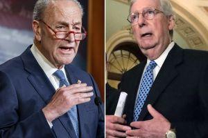 Schumer presiona por más testigos para juicio político; McConnell descartó que Trump sea destituido