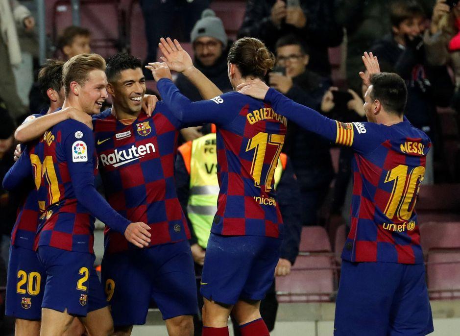 ¿El gol del año? Luis Suárez se lució con su golazo de tacón ante el Mallorca
