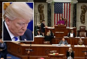 Republicanos presionan para evitar juicio político a Trump en maratónica sesión en Cámara