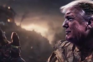VIDEO: Comparan a Trump con el supervillano Thanos y a los demócratas no les va nada bien