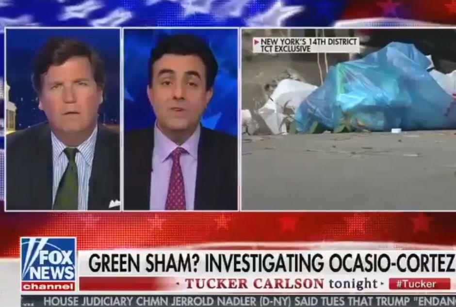 Fox News ataca a Alexandria Ocasio-Cortez por la suciedad en El Bronx y culpa a inmigrantes
