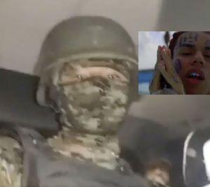 VIDEO: Sicarios del narco patrullan Frontera al ritmo de Tekashi 6ix9ine