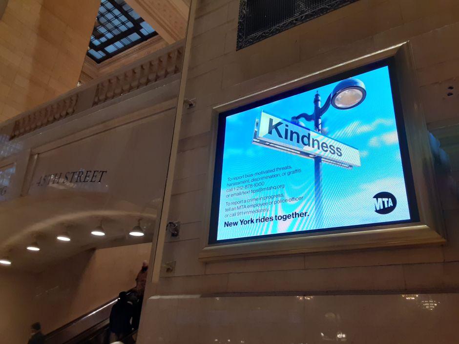 MTA lanzan campaña para frenar ola de crímenes de odio en el Subway de NYC