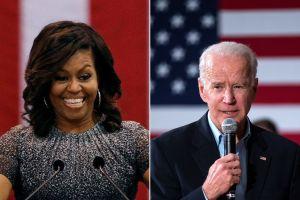 Biden insinúa la vicepresidencia de Michelle Obama si llega a la Casa Blanca en 2020