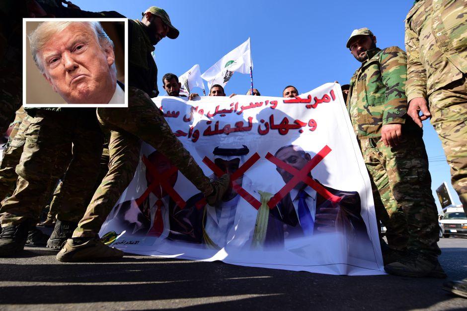 """Trump amenaza frontalmente a Irán tras """"ataques"""" a la embajada de EEUU en Bagdad"""