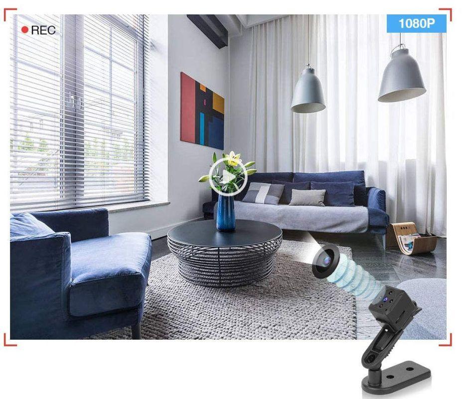 Las mejores 4 mini cámaras espía para que sepas qué ocurre en tu casa en todo momento