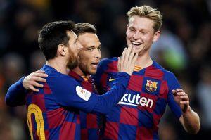 ¡Liberan presión! El Barcelona de Setién goleó y gustó contra el Leganés de Javier Aguirre en la Copa del Rey