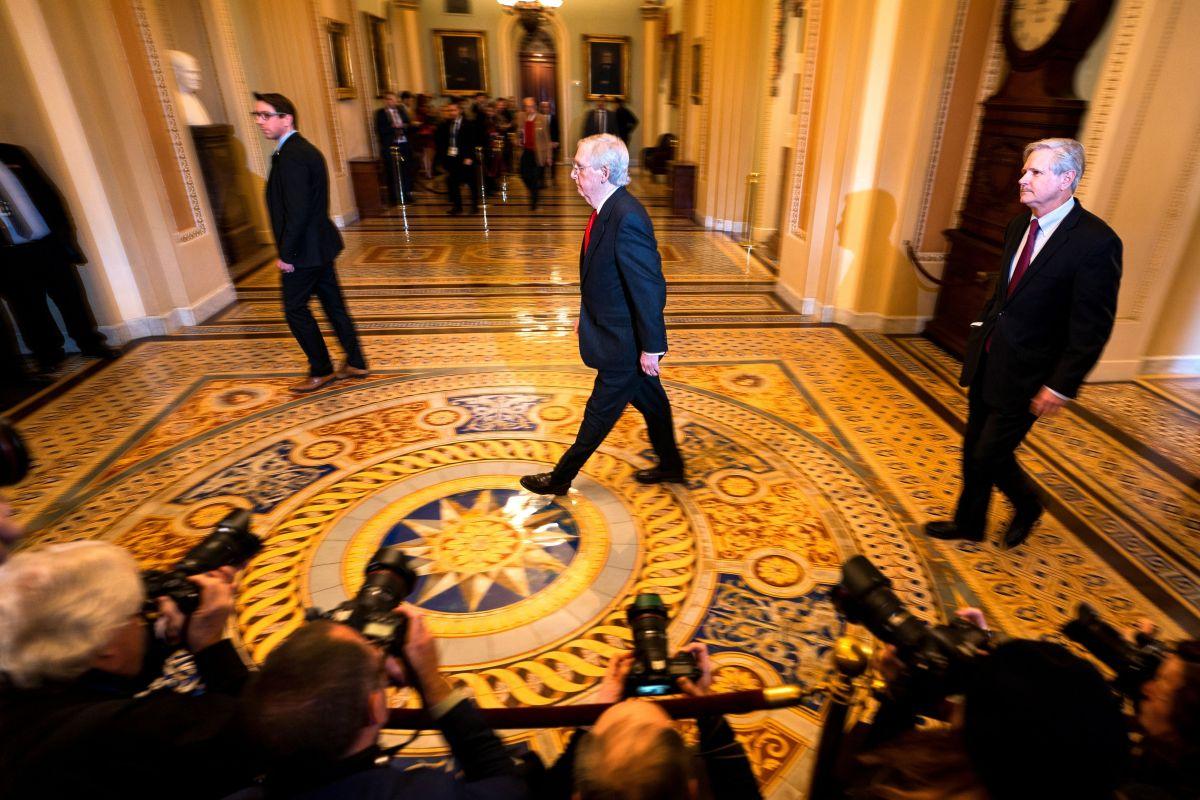 Los republicanos no quieren que el proceso se alargue más de dos semanas.