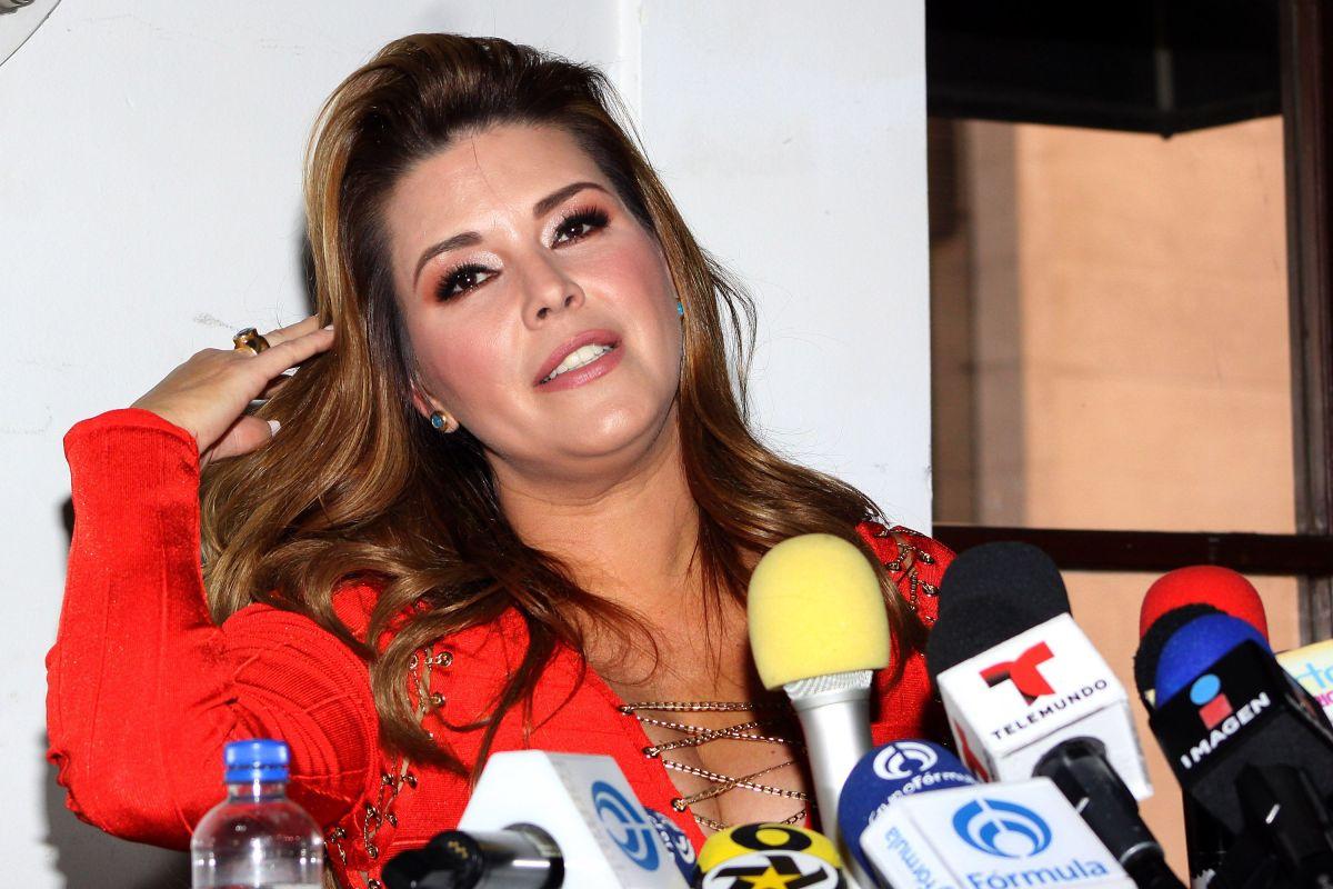 Alicia Machado en problemas con la comunidad gay por llamar 'enclosetada' a famoso periodista