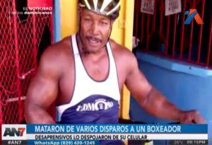 Matan de varios disparos a boxeador dominicano Dionicio Batista Dimes en exterior de su vivienda
