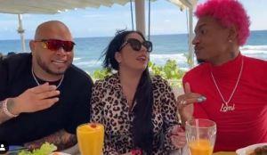 Andrea De Castro se relaja en República Dominicana tras publicación de video porno en Snapchat