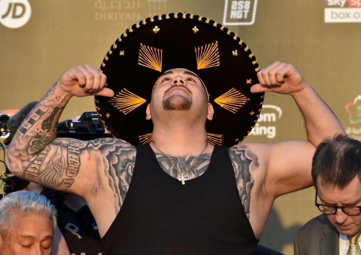¡Llegó la hora! Andy Ruiz se ha preparado a fondo para refrendar su campeonato ante Anthony Joshua.