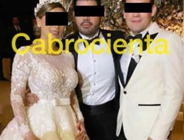 """Filtran en Instagram fotos de supuesta boda de hija de """"El Chapo"""" Guzmán"""