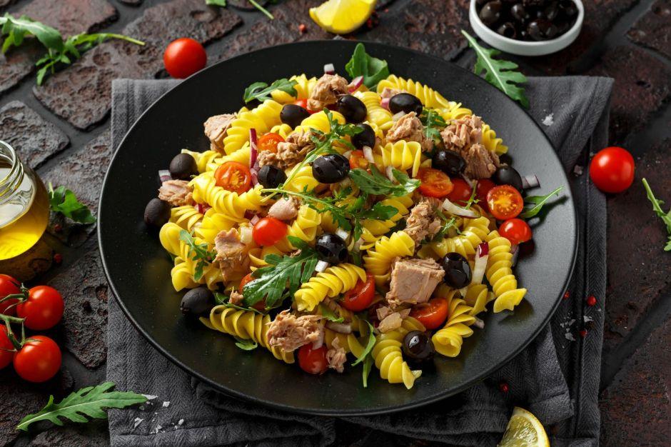 Recetas de comida saludable para bajar de peso: 5 recetas de ensalada de pasta