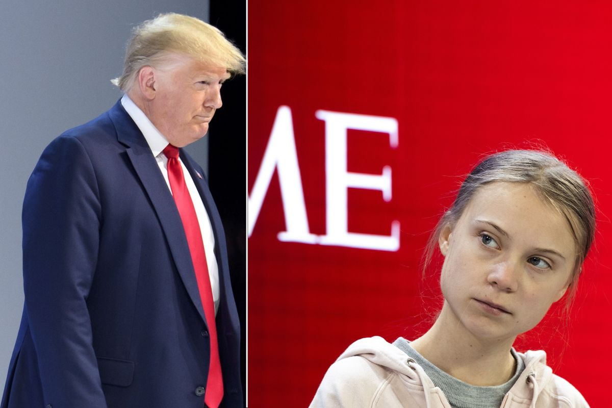 Trump y la activista Greta Thunberg vuelven a enfrentarse por el medioambiente